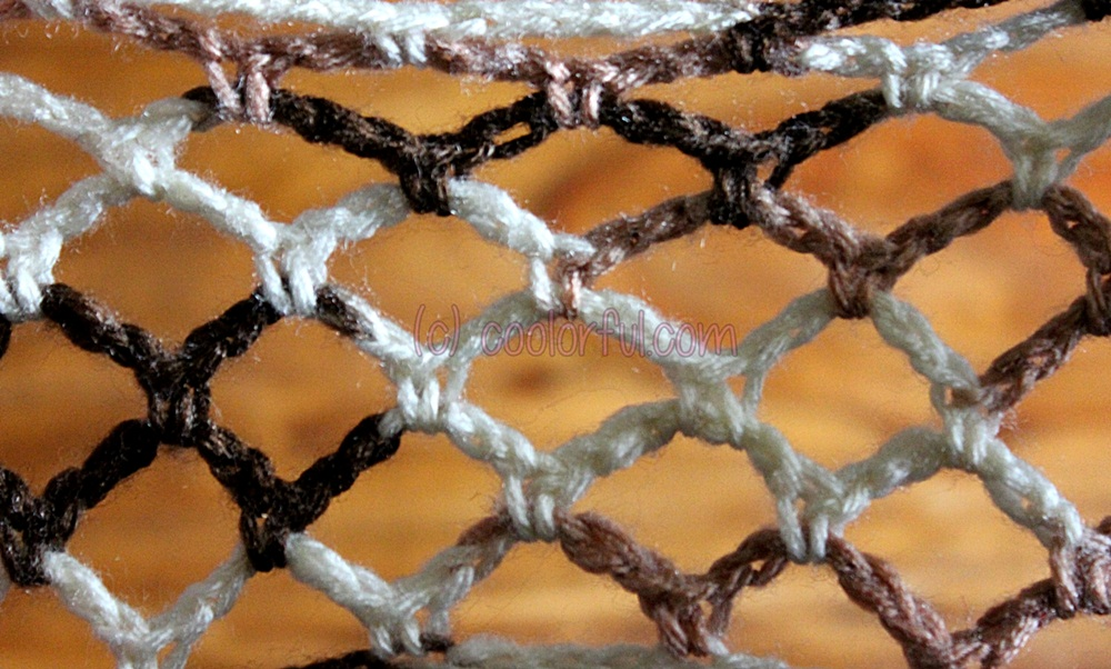 How To Crochet The Good Old Lace Stitch Coolorfulcom