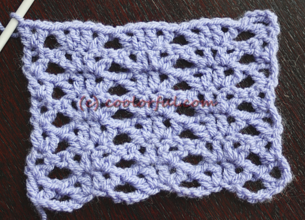 How To Crochet An Opposed V Stitch Coolorful
