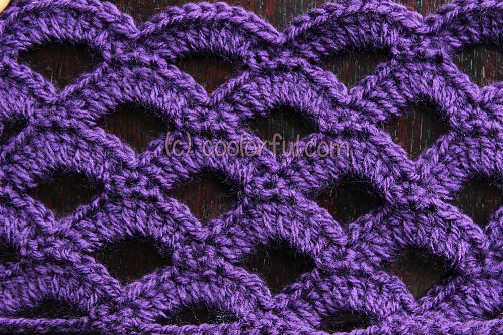 Crochet Stitches Written Instructions : Stitch Crochet Tutorial Related Keywords & Suggestions - Tulip Stitch ...