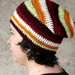 How to crochet an Urban Slouchy Beanie