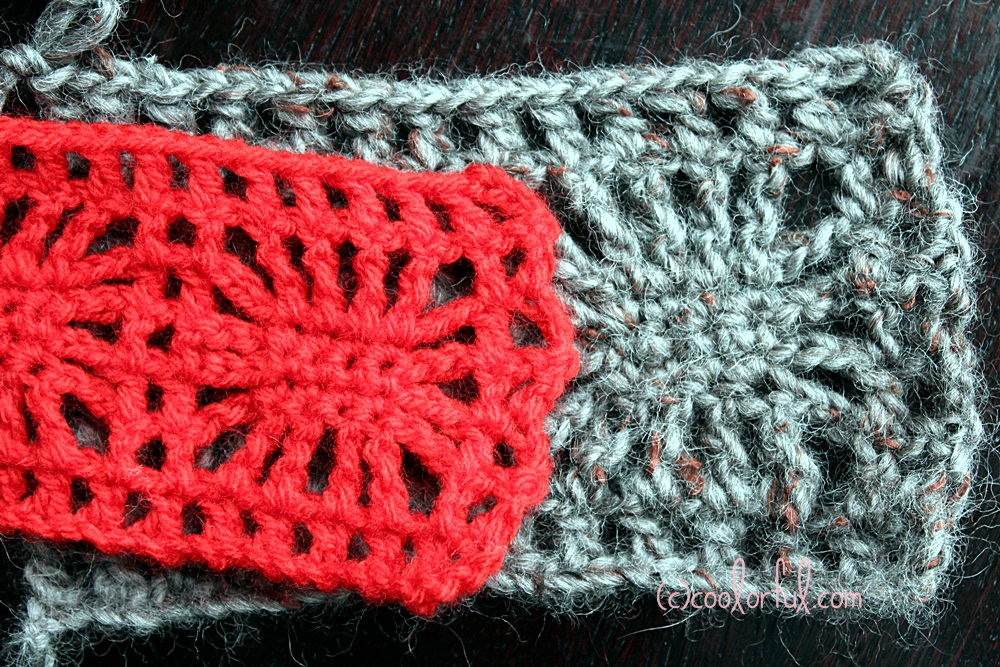 Crochet Stitches Written Instructions : How to crochet the spider stitch, written instructions