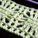 How to crochet the spider stitch, written instructions