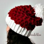 How to crochet a Crocodile Stitch Beret