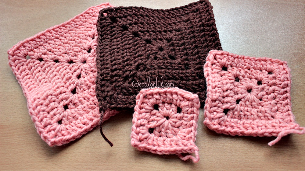 How To Crochet A Traditional Solid Granny Square Coolorful