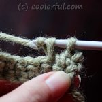 The Single Crochet Stitch Written Instructions