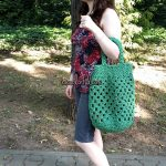How to Crochet a Granny Market Bag