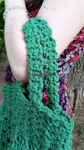 Crocheted Granny Market Bag by Coolorful.com