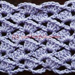 How to crochet The Tulip Stitch, written instructions