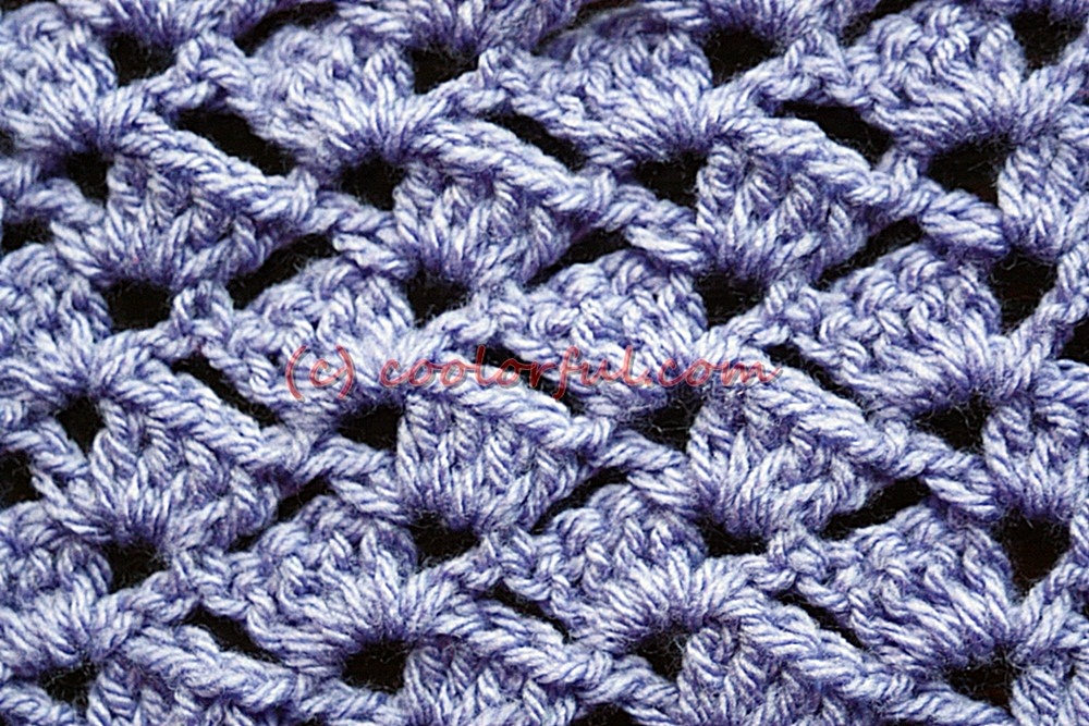 How To Crochet The Tulip Stitch Coolorfulcom