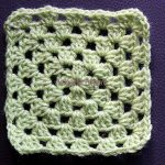 How to crochet the Granny on the Straight stitch