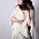 How to Crochet The Crocodile Shawl