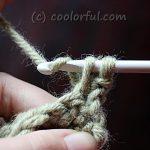 The Single Crochet Stitch Written Instructions